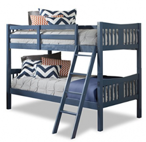 Elegant It es in grey or black finish and I think it looks much better than those shiny metal bunk beds