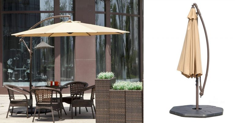 amazon 10 ft offset hanging patio umbrella 3749 regular price 12499 - Amazon Patio Umbrella