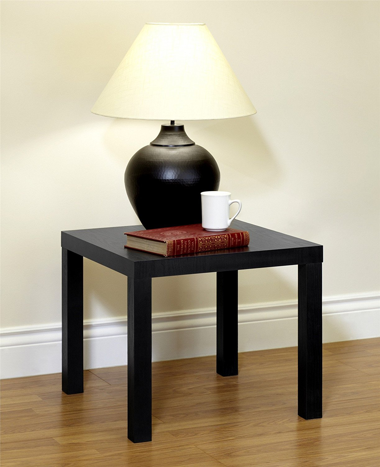 Ideal Walmart has a great deal on this Mainstays Parsons End Table Black or Brown on sale for Reg Select Free Store Pickup or day shipping
