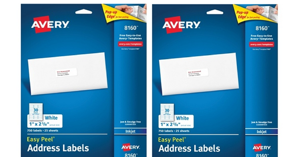 Get Free Avery Easy Peel Address Labels At Office Depotoffice Max