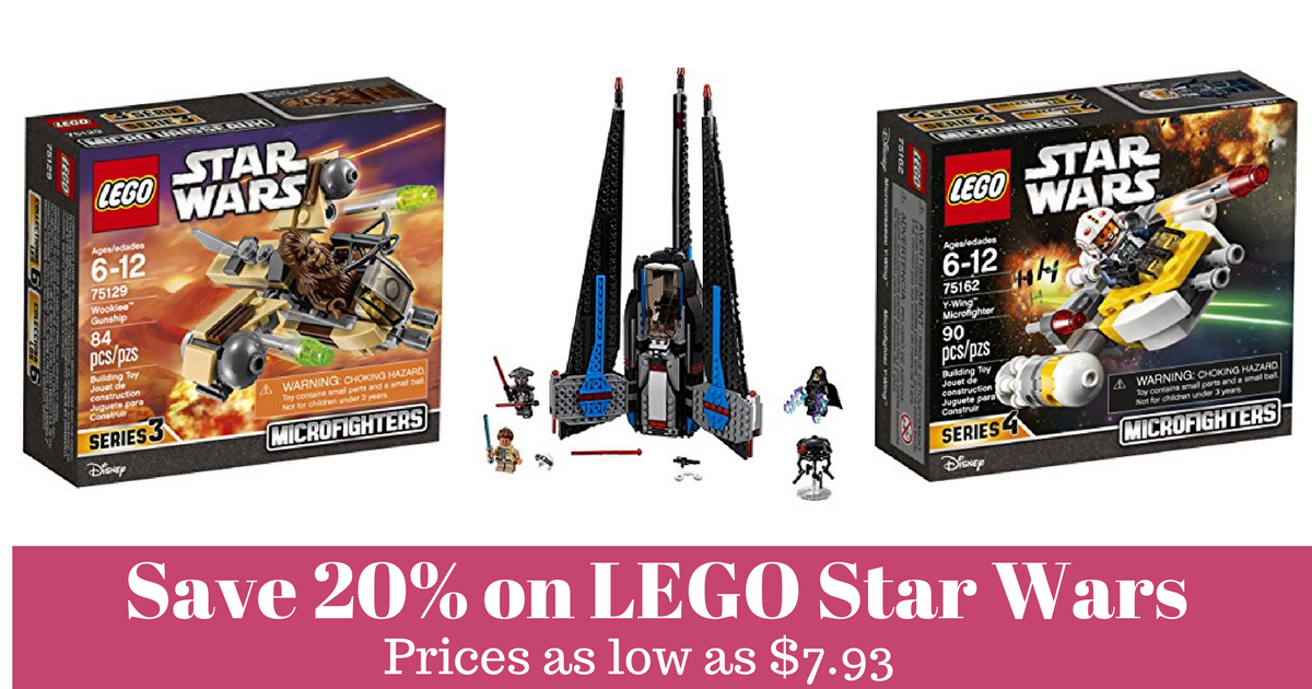 Save 20 On Lego Star Wars Sets Mylitter One Deal At A Time