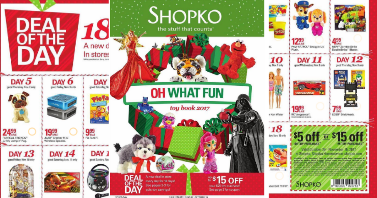 Shopko Black Friday Ad 2017 Mylitter One Deal At A Time