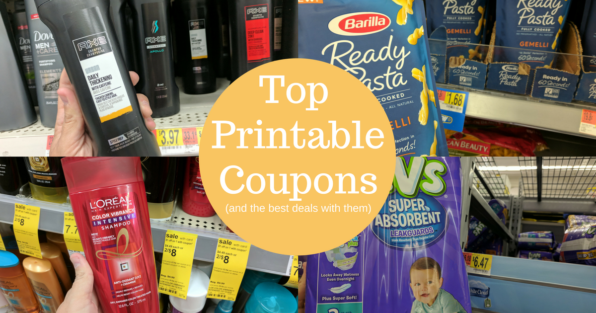 head over to couponscom and print these top printable coupons even better we show you where the best deals are to use these coupons at you can get items