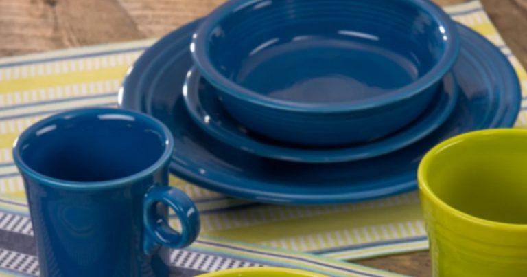 Fiesta Dinnerware 4-Piece Place Setting $29.99 (Reg. $56) & Kohls.com: Two Fiesta Dinnerware Sets $17.49 Each Shipped (Reg. $56)