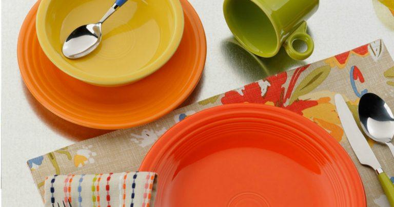 & Kohls.com: Two Fiesta Dinnerware Sets $17.49 Each Shipped (Reg. $56)