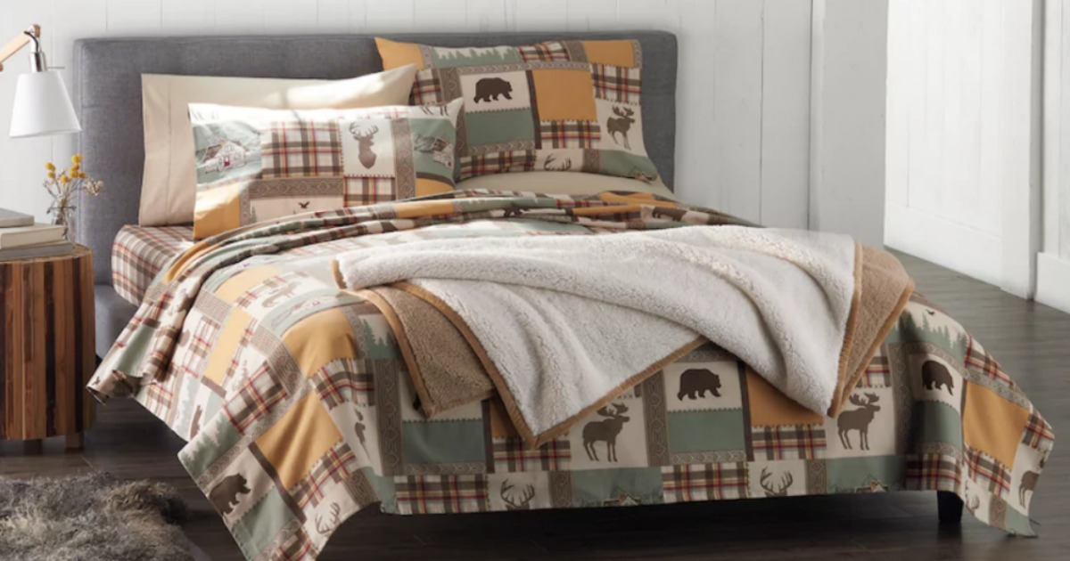 Today Only Kohl S Flannel Sheet Sets 19 99 Each When You Buy 2