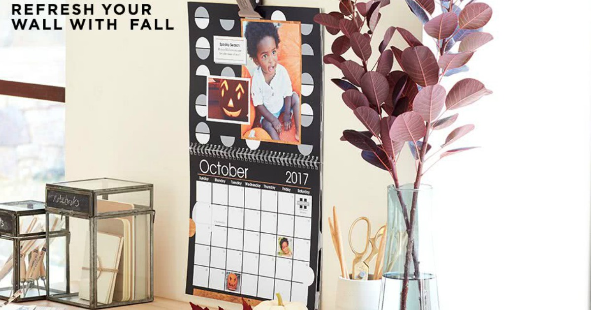 shutterfly free photo calendar from shutterfly just pay shipping