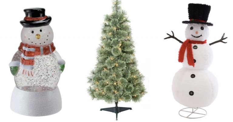 walmart black friday christmas decorations as low as 25 - Walmart Christmas Decorations 2017