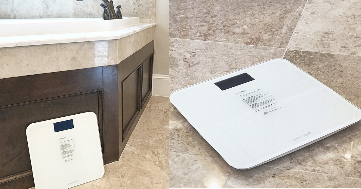 Amazon Innotech Digital Bathroom Scale 11 99 Regular