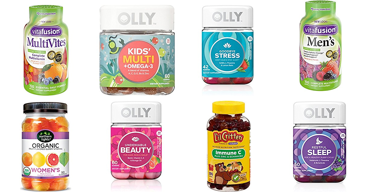 Amazon Save Up To 30 On Gummy Vitamins Mylitter One Deal At