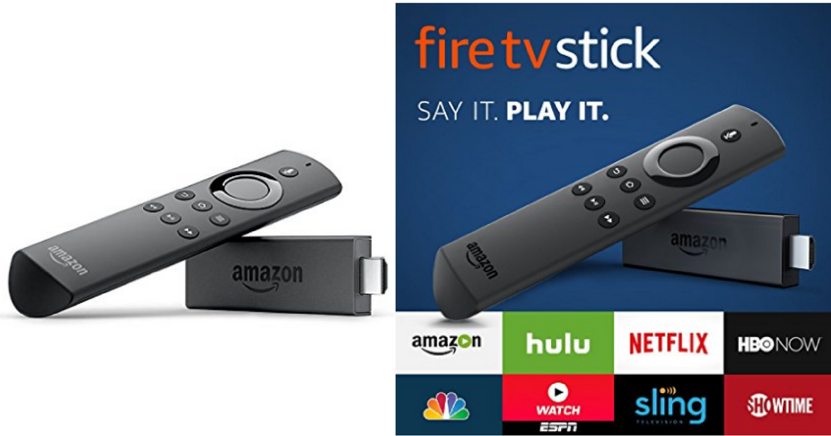 Amazon Black Friday Fire Stick With Alexa Voice Only 24 99 Mylitter One Deal At A Time