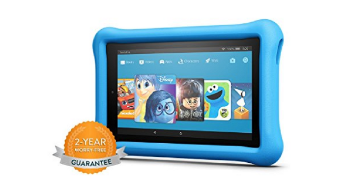 amazon kindle kids fire tablets only 2 year warranty mylitter one deal at a time. Black Bedroom Furniture Sets. Home Design Ideas