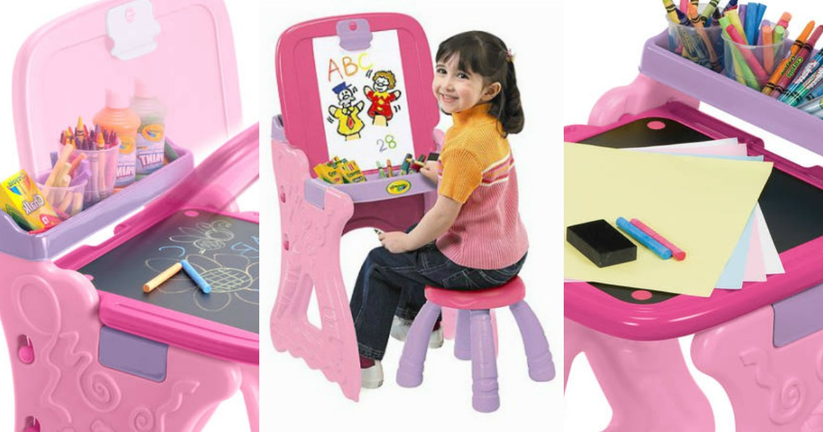 walmart crayola play n fold 2 in 1 art studio easel 19 37