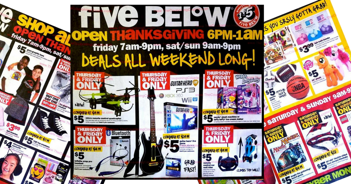 This Years Five Below Black Friday Ad Is Full Of Awesome Deals Like All Those Toy Deals As Well As All Those Cold Weather Apparel