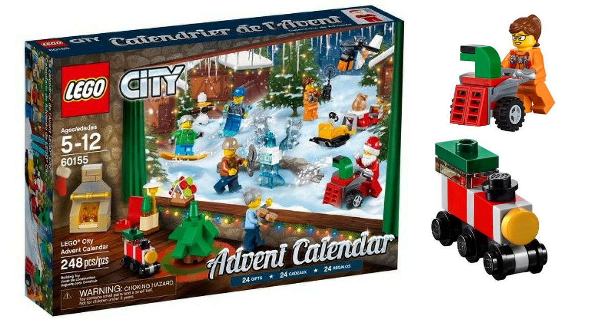 Back in Stock: LEGO City Advent Calendar only $23.99 + FREE ...