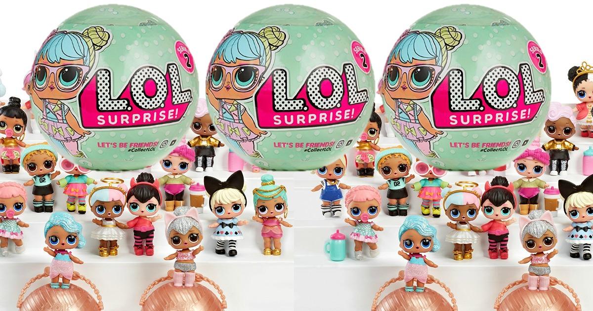 Amazon In Stock L O L Surprise Doll Series 2 3pk 27 99