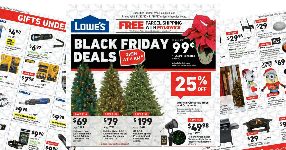 Lowes Black Friday Ad Scan 2017 - MyLitter - One Deal At A Time