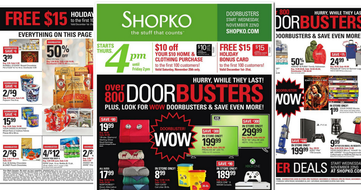 Shopko Black Friday Ad Scan 2017 Mylitter One Deal At A Time