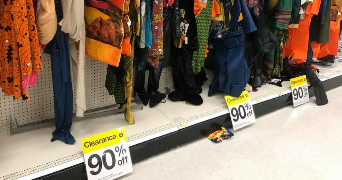 Target Halloween Clearance 90% Off! - MyLitter - One Deal At A Time