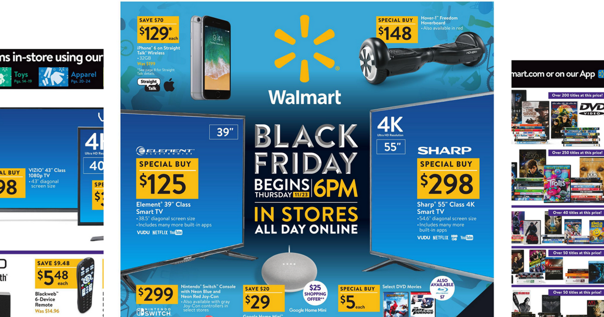 walmart 2017 black friday ad is here