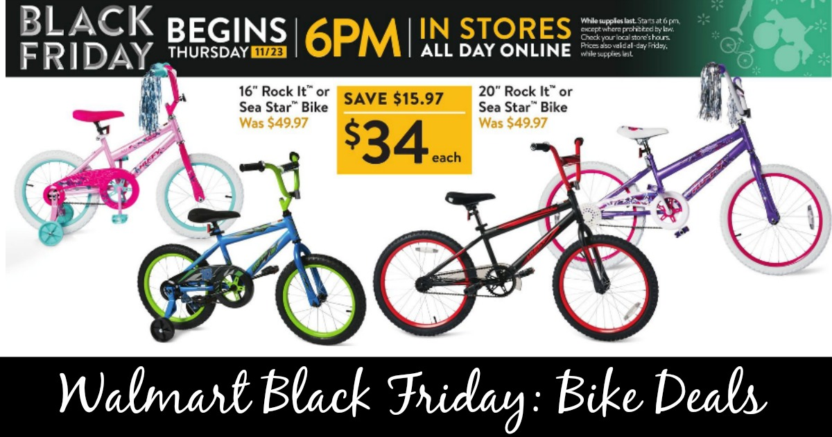 Walmart Black Friday 34 Bike Deals Mylitter One Deal At A Time