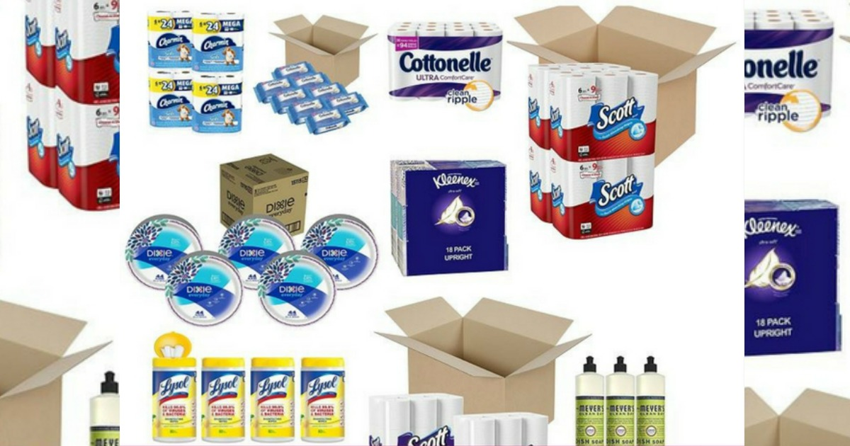 Amazon: Save on Household Essentials + Score Free Shipping!