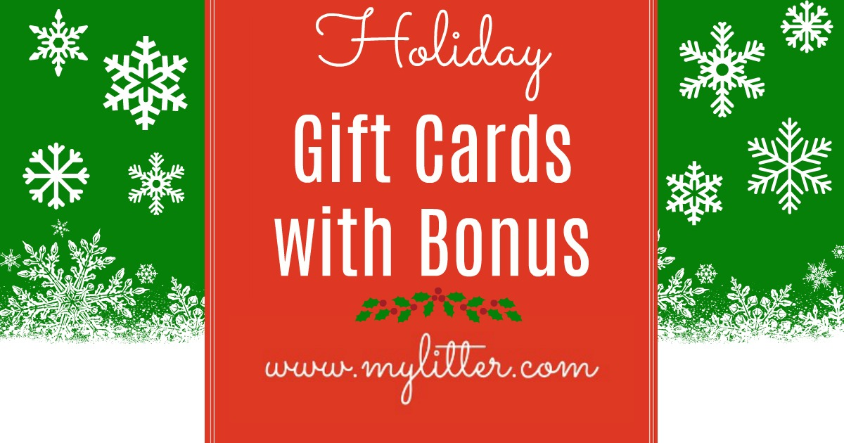restaurant bonus gift card offers 2017 - Holiday Gift Card Promotions 2017