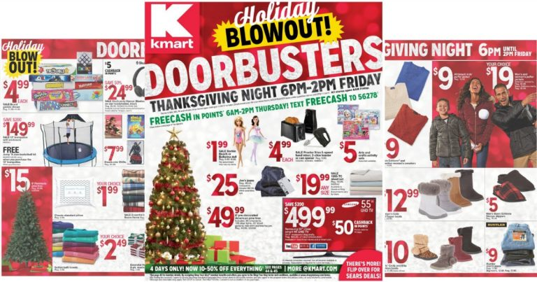 kmart black friday ad leak - What Time Does Kmart Close On Christmas Eve