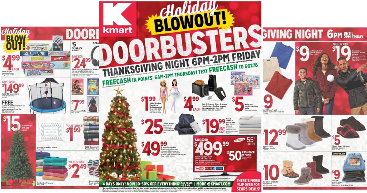 Kmart Black Friday Ad Leak! - MyLitter - One Deal At A Time