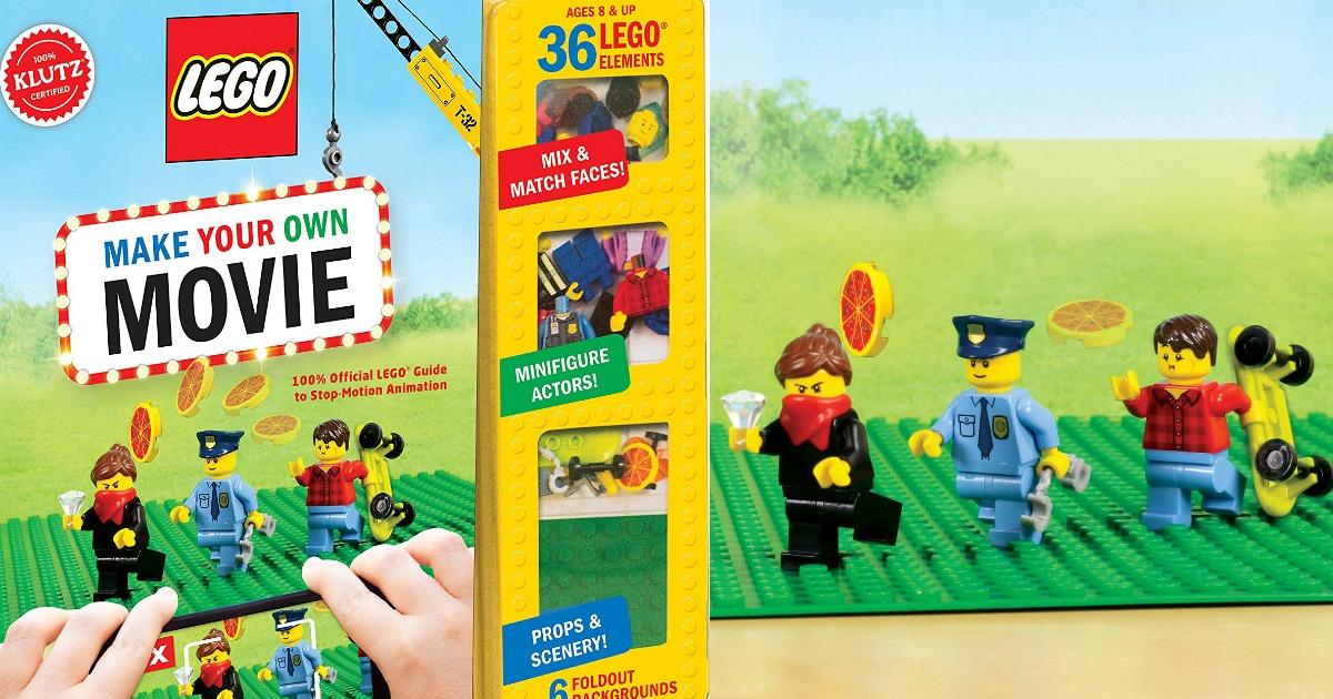 Amazon: LEGO Make Your Own Movie Kit $16.27 (Reg $24.99)