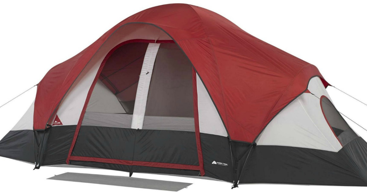 Walmart.com and Jet.com are both offering this Ozark Trail 8 Person Family Tent in Maroon/Gray for just $44.97 shipped (Regular price $79)!  sc 1 st  MyLitter & Ozark Trail 8-Person Family Tent Only $44.97 Shipped Free (Reg. $79)