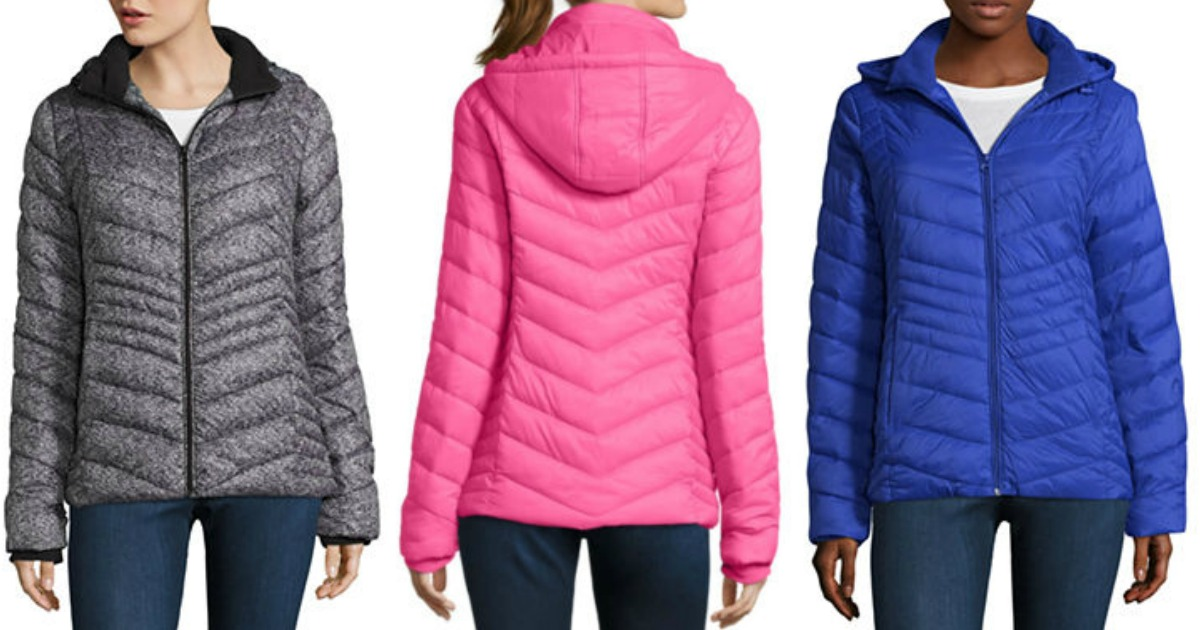 838694f8363a Black Friday Deal! JCPenney  Ladies  Puffer Jacket in 12 Colors  20