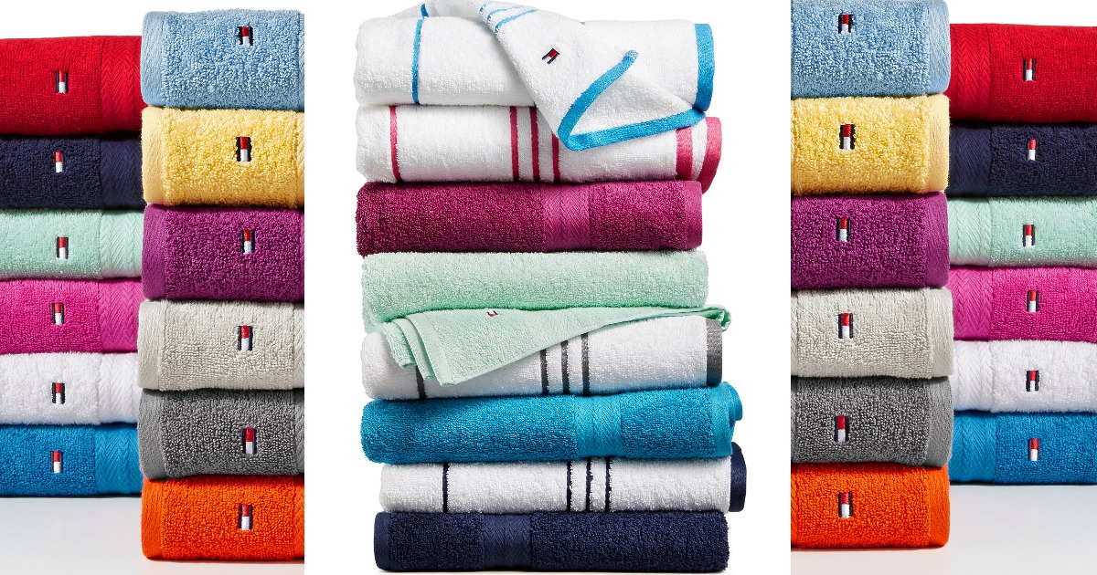 Macy 39 S Tommy Hilfiger All American Towels 2 For Reg 14 Each