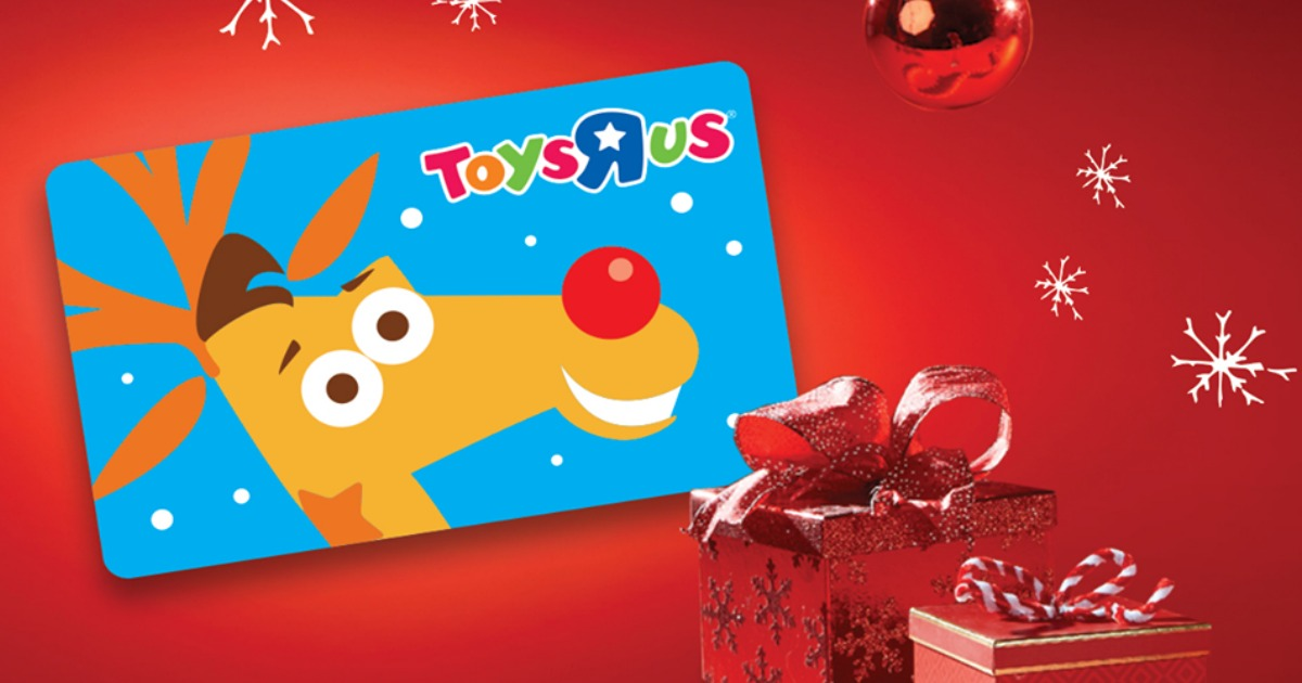 how to use toys r us gift card