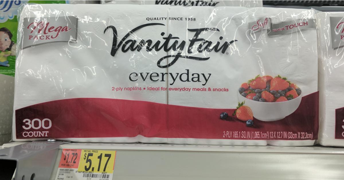 Vanity fair napkins walmart