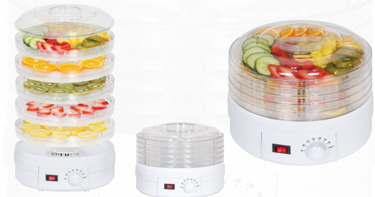Walmart Best Choice 5 Tray Electric Food Dehydrator Only 39 95
