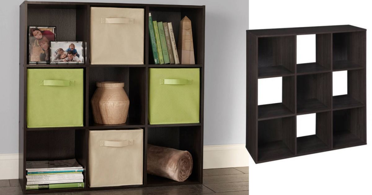 Bon Walmart: ClosetMaid Cubeicals 9 Cube Organizer Only $38 (reg $59)
