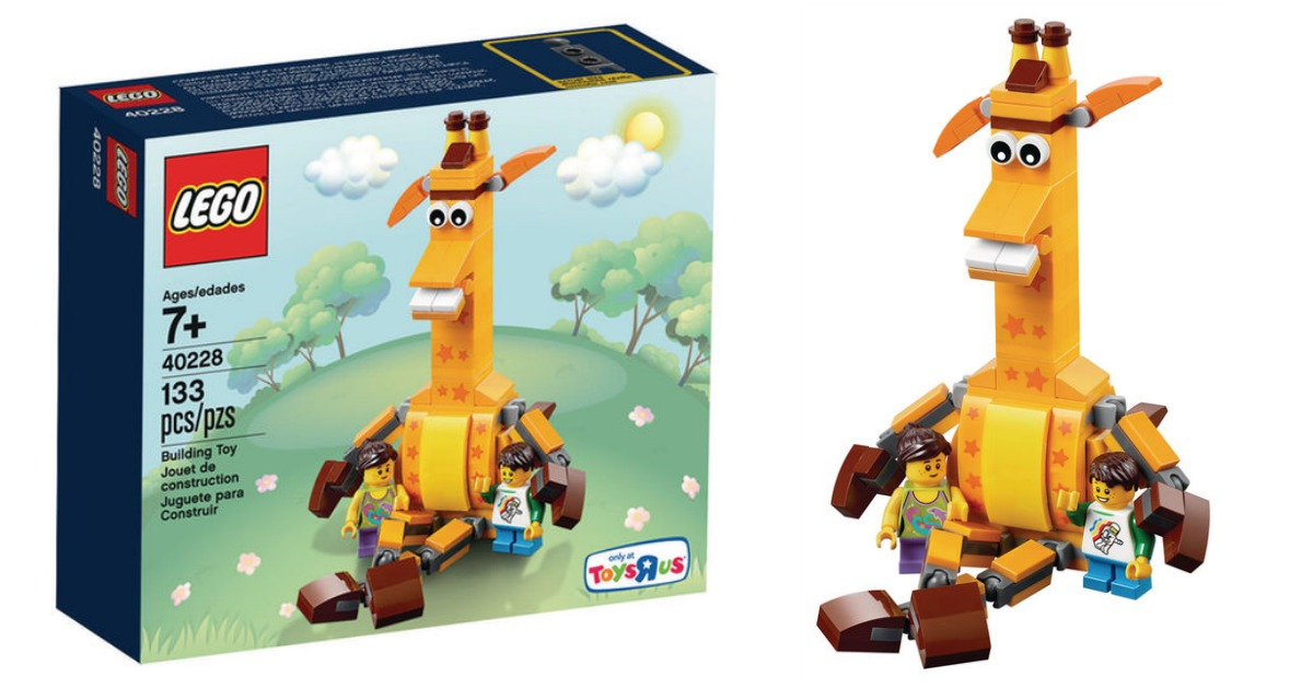 Lego Sets At Toys R Us : Toys r us exclusive lego geoffrey friends set only