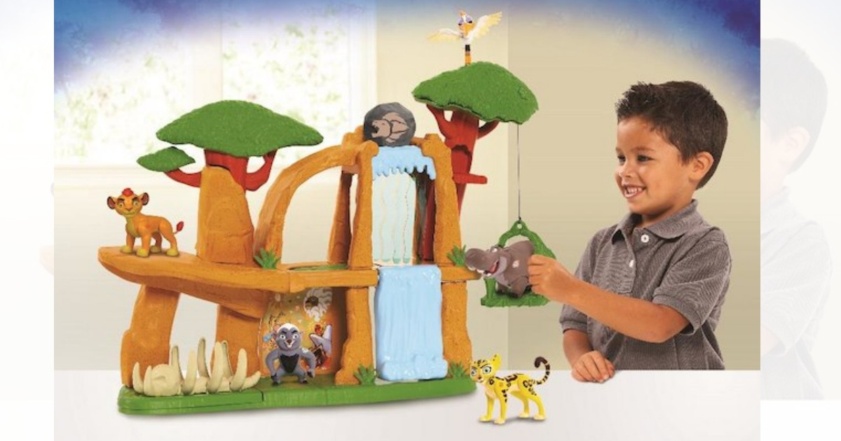Toys R Us Lion Guard Defend The Pride Lands Playset Only