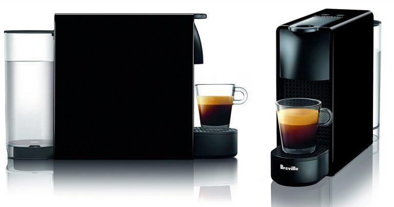 amazon nespresso essenza mini espresso machine by breville piano black regular price. Black Bedroom Furniture Sets. Home Design Ideas