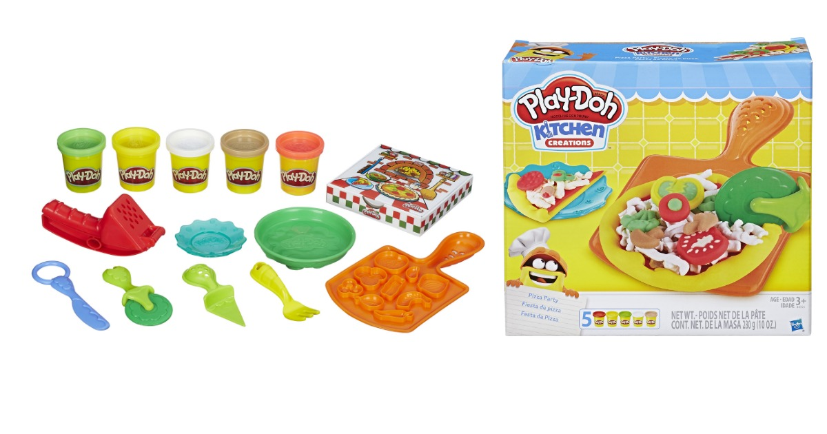Beau Walmart: Play Doh Kitchen Creations Pizza Party Only $4.88 (regular $9.69)