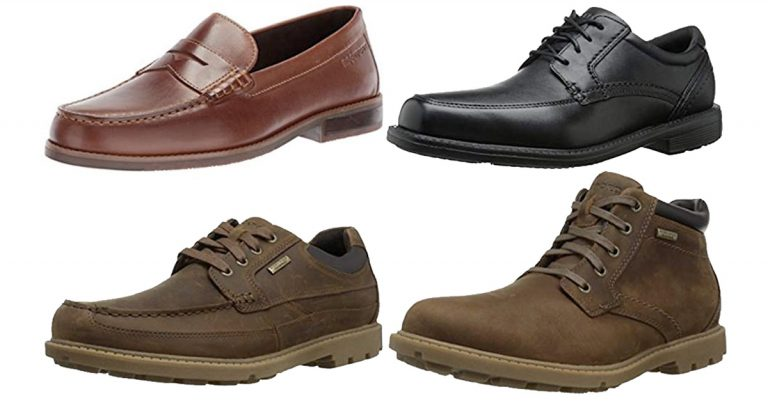 Amazon: Save up To 50% off Rockport Men's Shoes