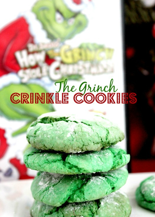 25 Days Of Christmas The Grinch Crinkle Cookies Mylitter One