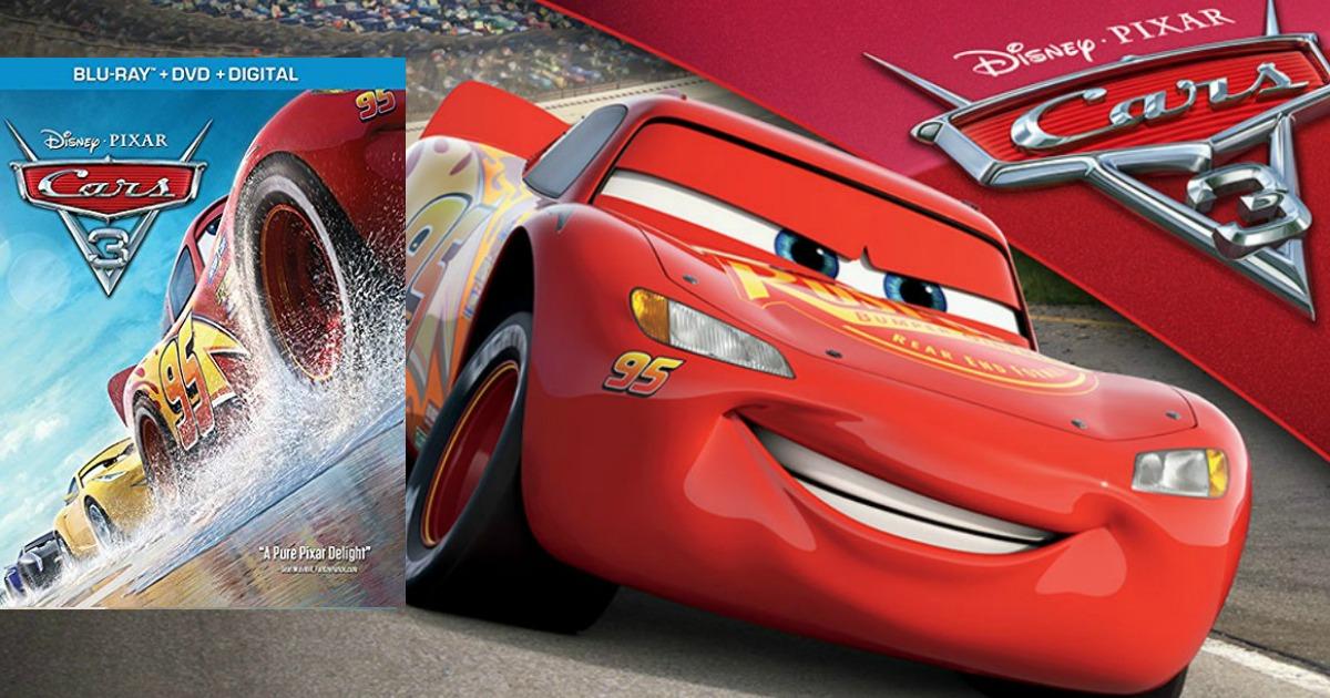Amazon Prime: Cars 3 (DVD+Digital Copy+Blu-ray) Just $18 69