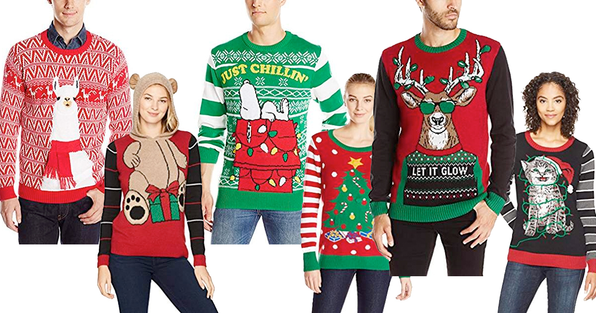 Amazon Up To 50 Off Ugly Holiday Sweaters Mylitter