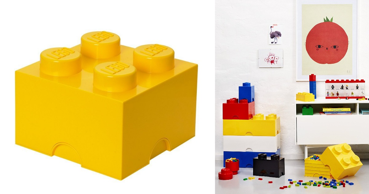 Amazon: LEGO Storage Brick 4 Only $18.04 (Regular Price: $31.99)