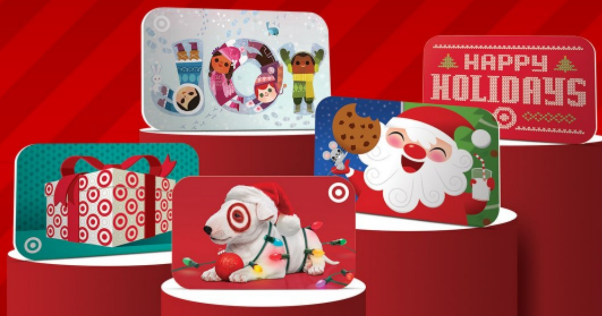 Today Only! 10% off Target Gift Cards + Free Shipping