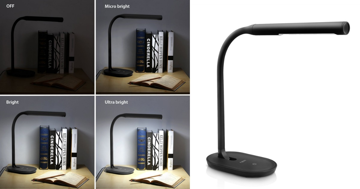 lamp lighting from aad desk home reading usb dimmable folding silver led flexible product bedside light industrial