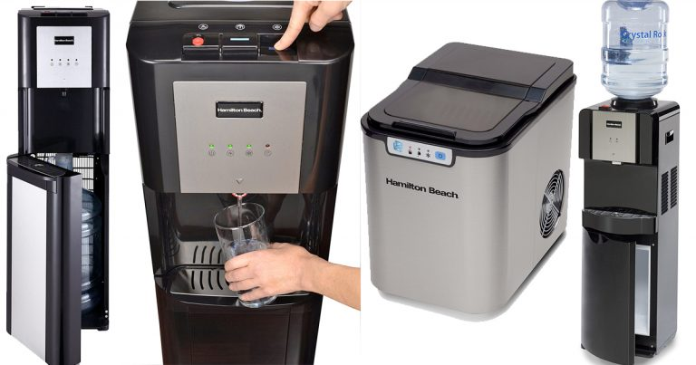 Amazon Save 20 on Hamilton Beach Water Dispenser and Ice Maker