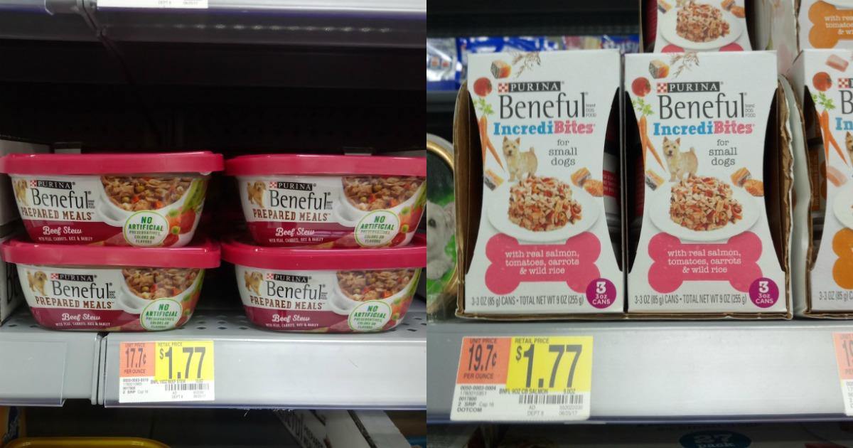 Buy 1 Get 1 Free Beneful Wet Dog Food Deal At Walmart Mylitter